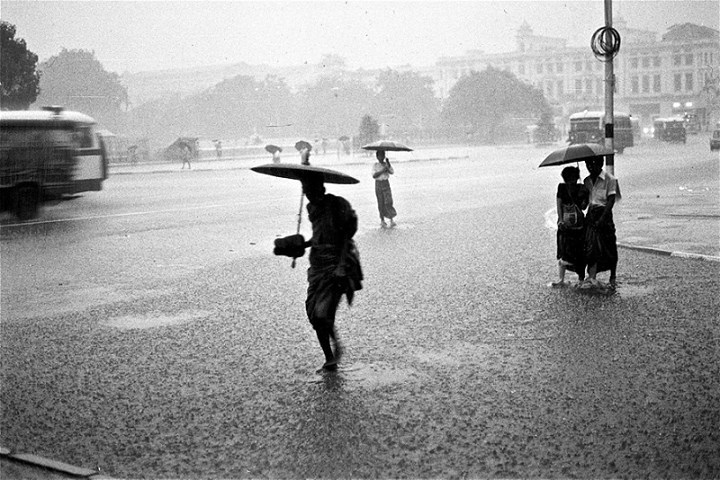 Raining in Rangoon c. 1980