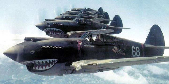 """Flying Tigers"", Defenders of Rangoon"