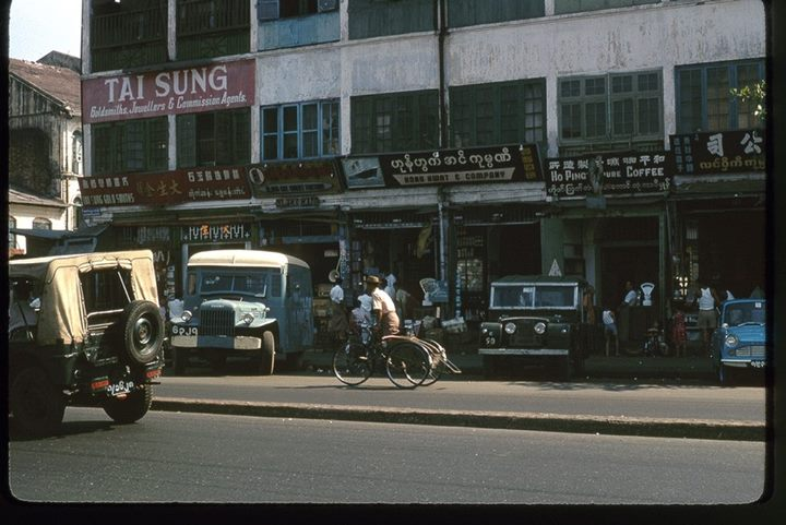 Rangoon Chinatown 1964