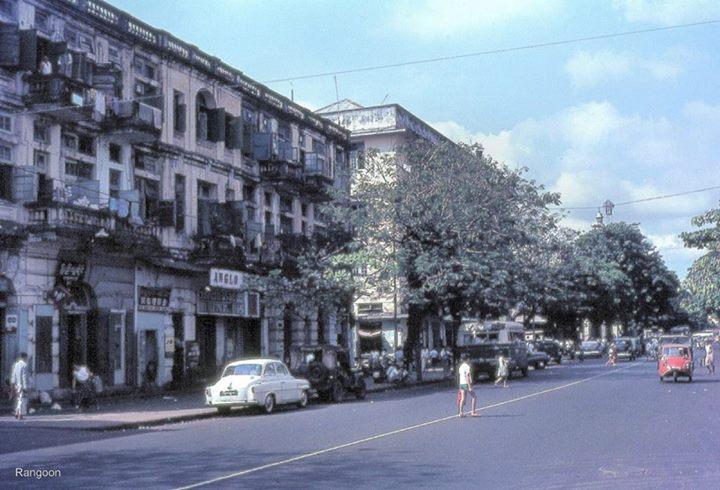 ၁၉ ၆၆ ခုနှစ်က ရန်ကုန်မြို့
