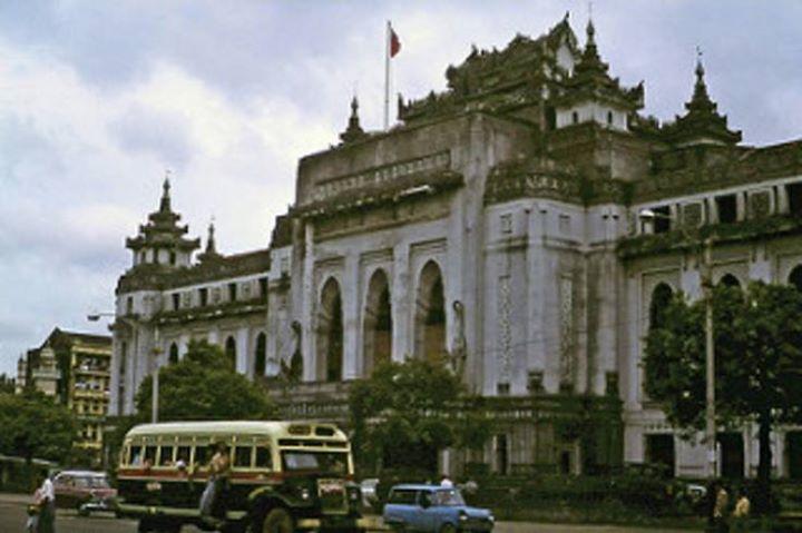 ၁၉ ၇၈ ခုနှစ်က ရန်ကုန် (ဓာတ်ပုံမူရင်း - ပေါ်လီရက်စ်)