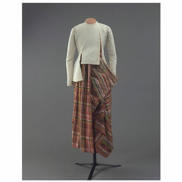 Late 19th Century Myanmar men's dress