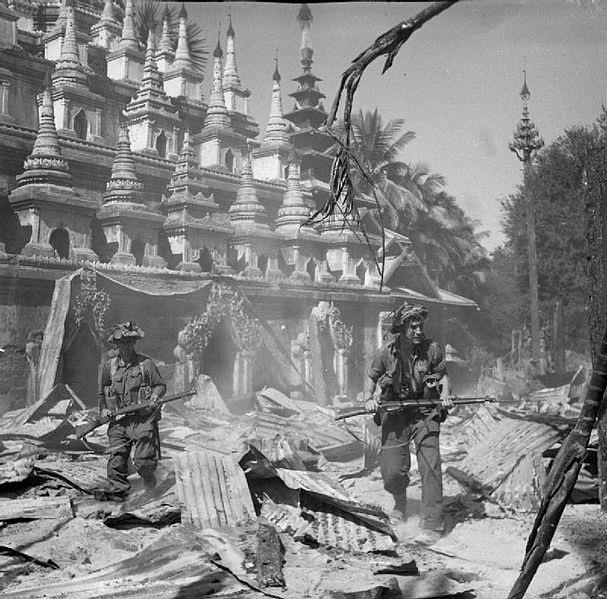 Pyinmana During World War Two