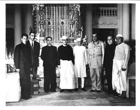 On the Way to the 1955 Bandung Conference