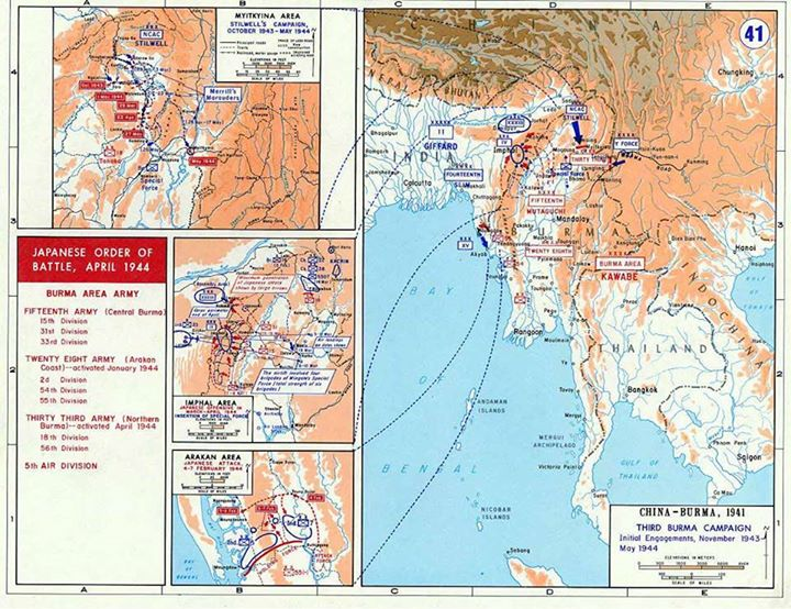 Battles of Imphal and Kohima
