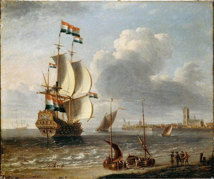 "Somewhere at the bottom of the Yangon River: the ""Koning David"" ship"