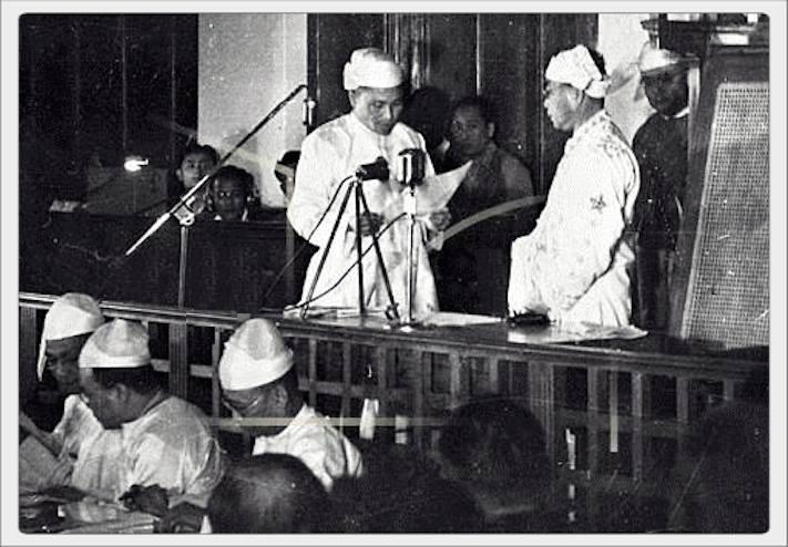 Myth of Burma Independence