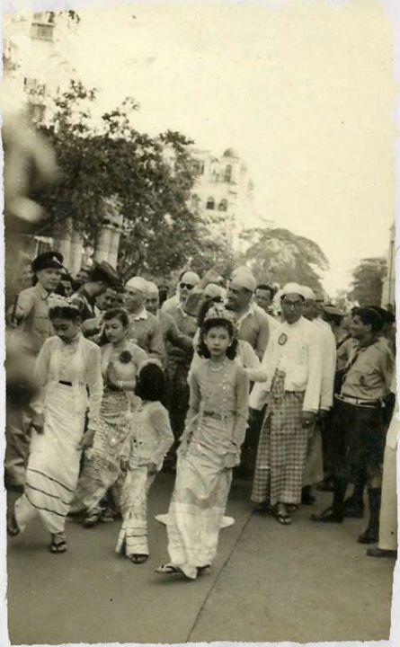 Nehru and Nasser in Rangoon