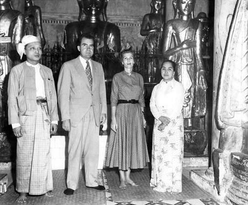 ရစ်ချတ်နစ်ဆင်၏ ၁၉၅၃ ခုနစ် မြန်မာပြည် ခရီးစဉ်