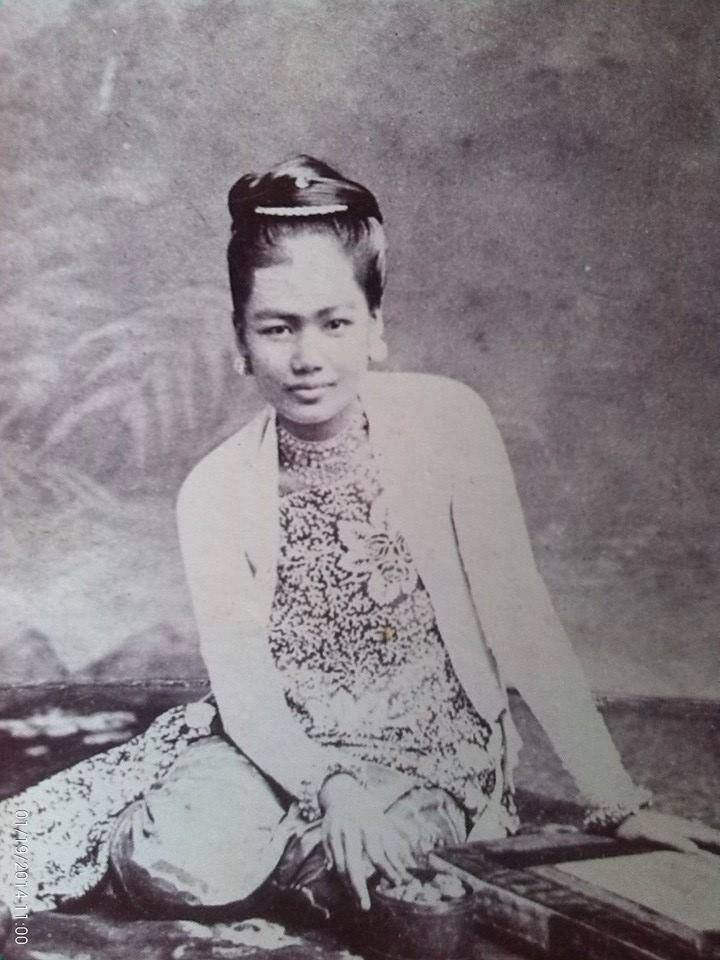 A favourite daughter of King Mindon: the Princess of Naungmon.